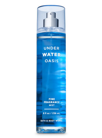 Signature Collection Underwater Oasis Fine Fragrance Mist - Bath And Body Works