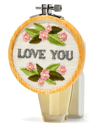 Love You Embroidery Wallflowers Fragrance Plug