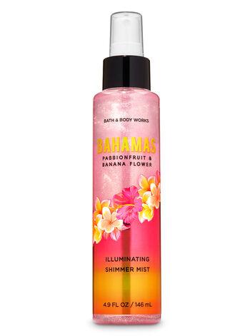 Bahamas Passionfruit & Banana Flower Illuminating Shimmer Mist - Bath And Body Works