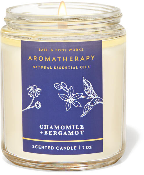 Chamomile Bergamot Single Wick Candle