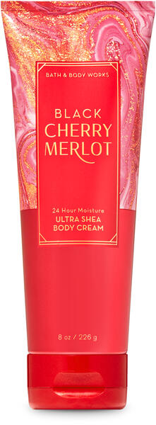 Black Cherry Merlot Ultra Shea Body Cream