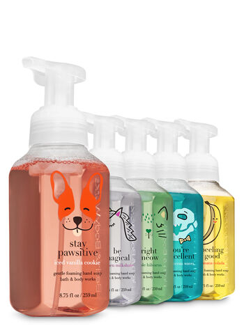 Foamy Friends Gentle Foaming Hand Soap, 5-Pack - Bath And Body Works