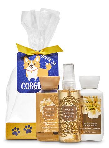 Warm Vanilla Sugar You're So Corgeous Mini Gift Set
