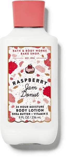 Raspberry Jam Donut Super Smooth Body Lotion