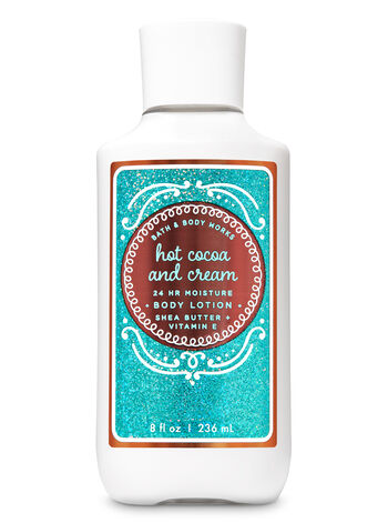Hot Cocoa & Cream Super Smooth Body Lotion - Bath And Body Works