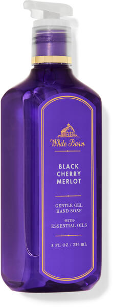 Black Cherry Merlot Gentle Gel Hand Soap