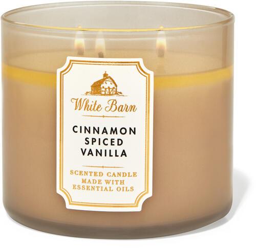 Cinnamon Spiced Vanilla 3-Wick Candle