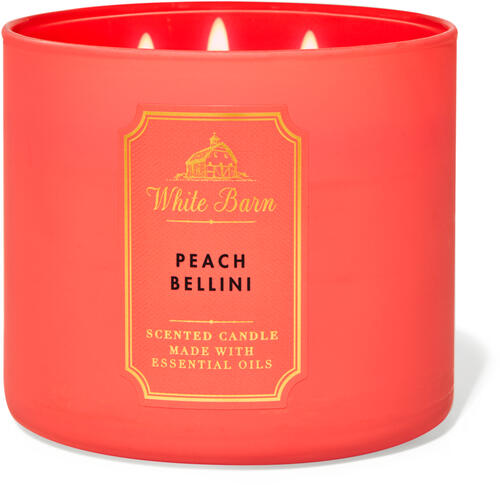 Peach Bellini 3-Wick Candle