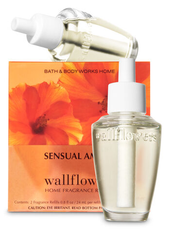 Sensual Amber Wallflowers Refills, 2-Pack - Bath And Body Works