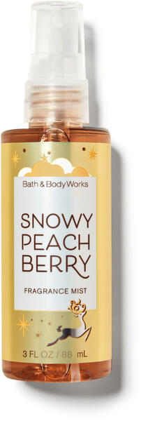 Snowy Peach Berry Travel Size Fine Fragrance Mist