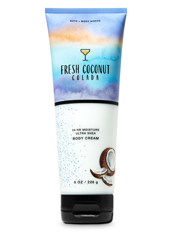 Fresh Coconut Colada Ultra Shea Body Cream - Bath And Body Works