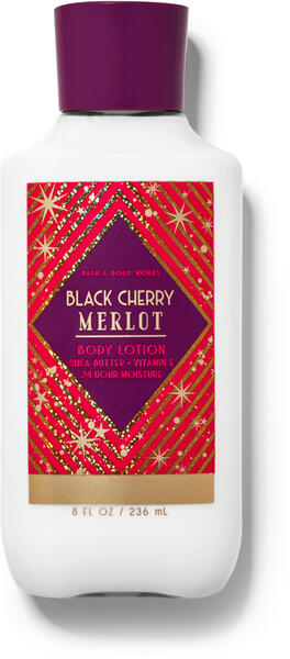 Black Cherry Merlot Super Smooth Body Lotion