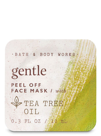 Gentle with Tea Tree Oil Peel Off Face Mask - Bath And Body Works