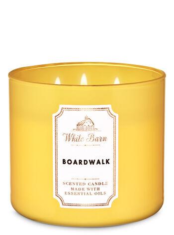 White Barn Boardwalk 3-Wick Candle - Bath And Body Works