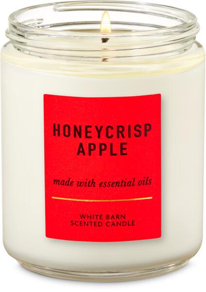 Honeycrisp Apple Single Wick Candle