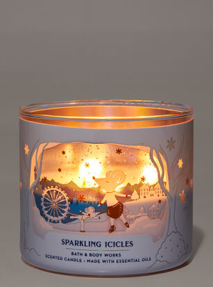 Sparkling Icicles 3-Wick Candle