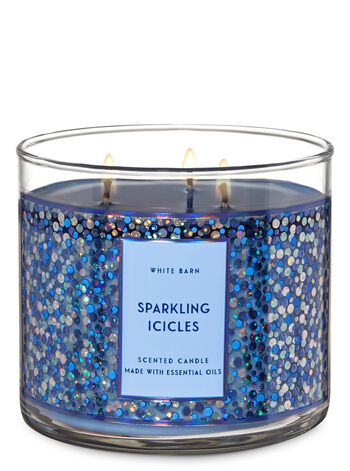 Sparkling Icicles 3-Wick Candle - Bath And Body Works