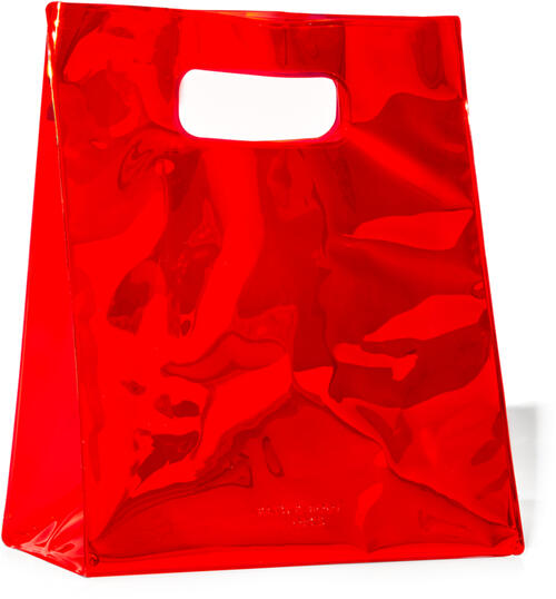 Red Iridescent Gift Bag