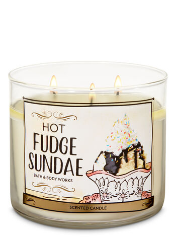 Hot Fudge Sundae 3-Wick Candle - Bath And Body Works