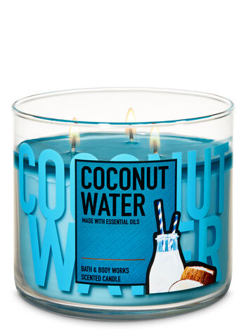 Coconut Water 3-Wick Candle - Bath And Body Works