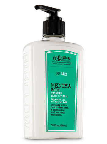 C.O. Bigelow Mentha Body Lotion - Bath And Body Works