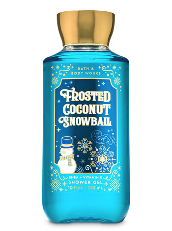 Frosted Coconut Snowball Shower Gel - Bath And Body Works