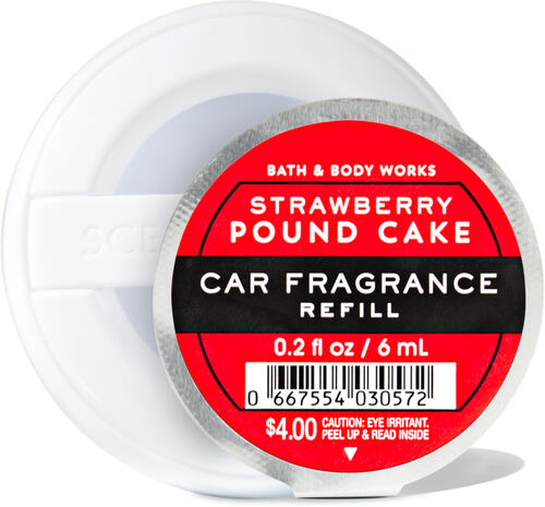 Strawberry Pound Cake Car Fragrance Refill