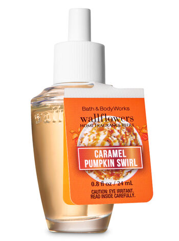 Caramel Pumpkin Swirl Wallflowers Fragrance Refill - Bath And Body Works