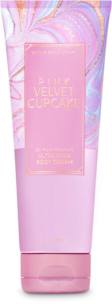 Pink Velvet Cupcake Ultra Shea Body Cream