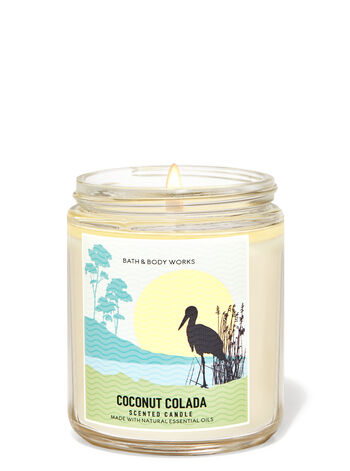 Coconut Colada Single Wick Candle