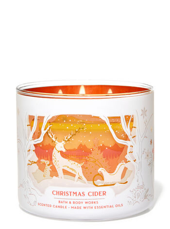 Christmas Cider 3-Wick Candle