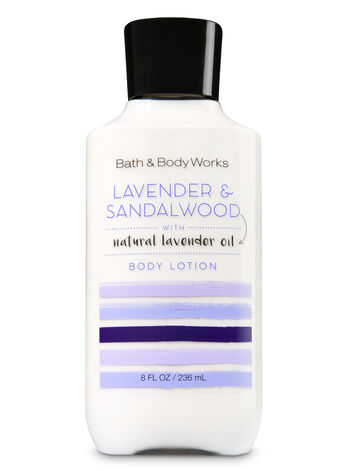 Signature Collection Lavender & Sandalwood Body Lotion - Bath And Body Works
