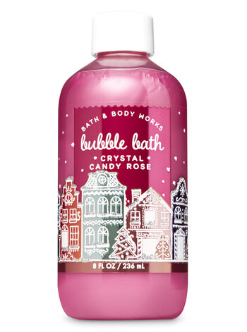 Crystal Candy Rose Bubble Bath - Bath And Body Works