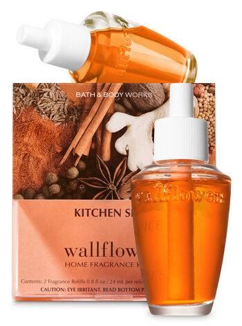 Kitchen Spice Wallflowers Refills, 2-Pack - Bath And Body Works