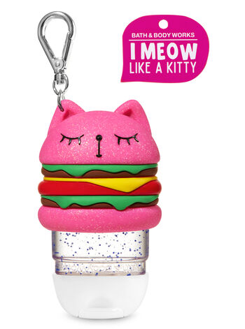 Meowing Hamburger Cat PocketBac Holder - Bath And Body Works