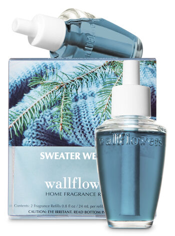 Sweater Weather Wallflowers Refills, 2-Pack - Bath And Body Works