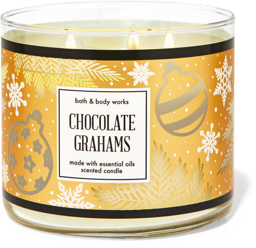 Chocolate Grahams 3-Wick Candle