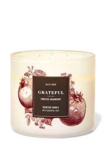Frosted Cranberry 3-Wick Candle