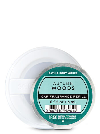 Autumn Woods Car Fragrance Refill - Bath And Body Works
