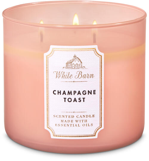 Champagne Toast 3-Wick Candle