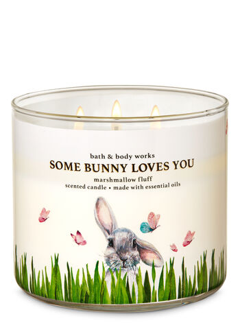 Marshmallow Fluff 3-Wick Candle - Bath And Body Works
