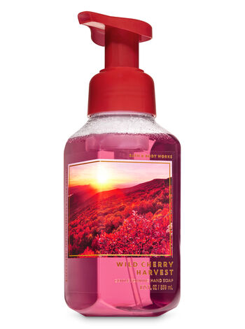 Wild Cherry Harvest Gentle Foaming Hand Soap - Bath And Body Works