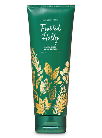 Frosted Holly Ultra Shea Body Cream - Bath And Body Works