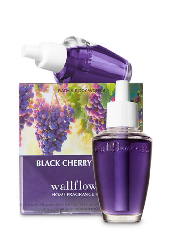 Black Cherry Merlot Wallflowers Refills, 2-Pack - Bath And Body Works