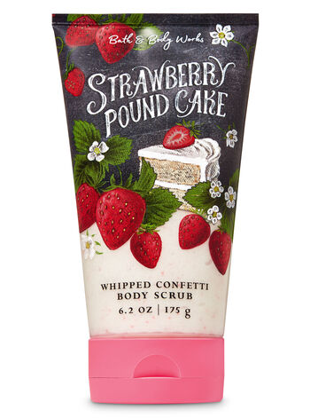 Strawberry Pound Cake Whipped Confetti Body Scrub - Bath And Body Works