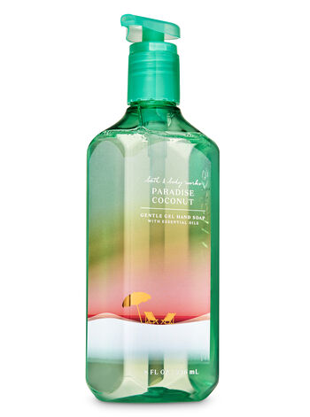 Paradise Coconut Gentle Gel Hand Soap - Bath And Body Works