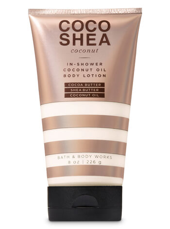 CocoShea Coconut In-Shower Coconut Oil Body Lotion - Bath And Body Works