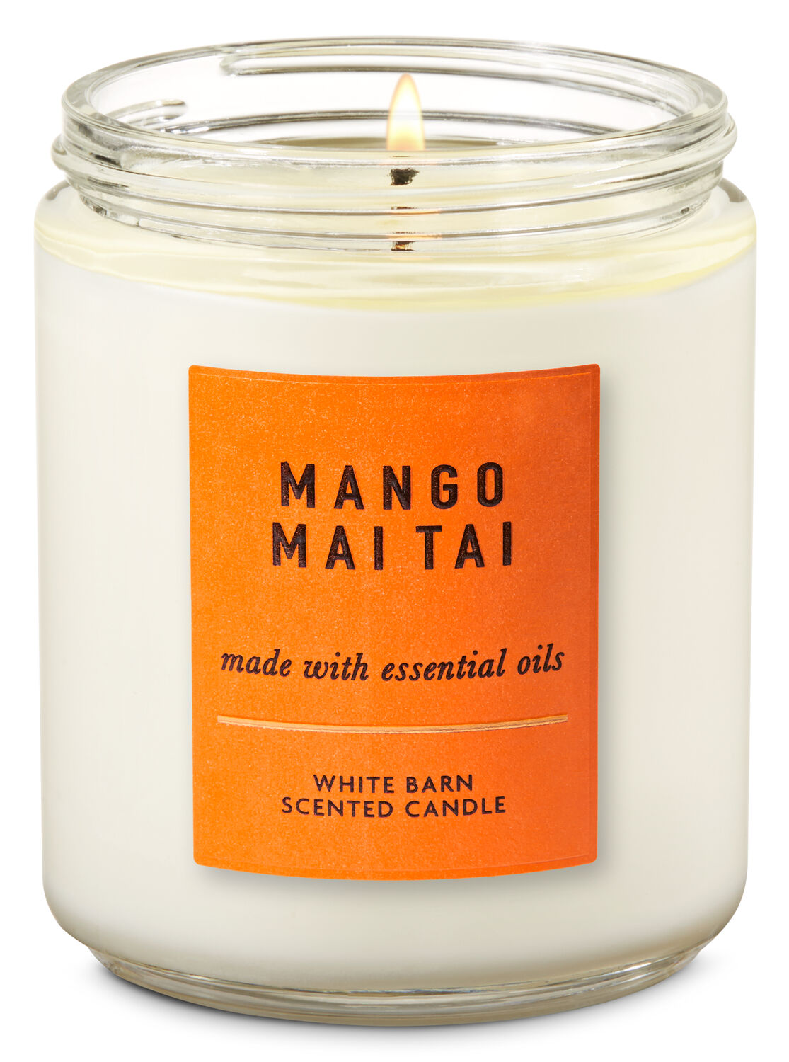 627e13b664 Mango Mai Tai Single Wick Candle | Bath & Body Works