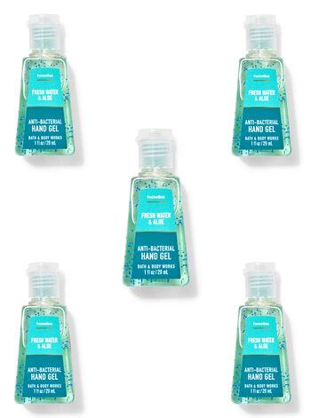 Fresh Water & Aloe PocketBac Hand Sanitizer, 5-Pack