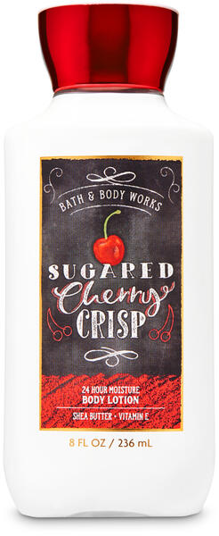 Sugared Cherry Crisp Super Smooth Body Lotion